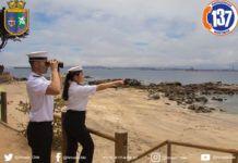 El Centro Meteorológico Marítimo de Valparaíso informó que se presentarán marejadas que comprenderán un oleaje de hasta 4 metros de altura